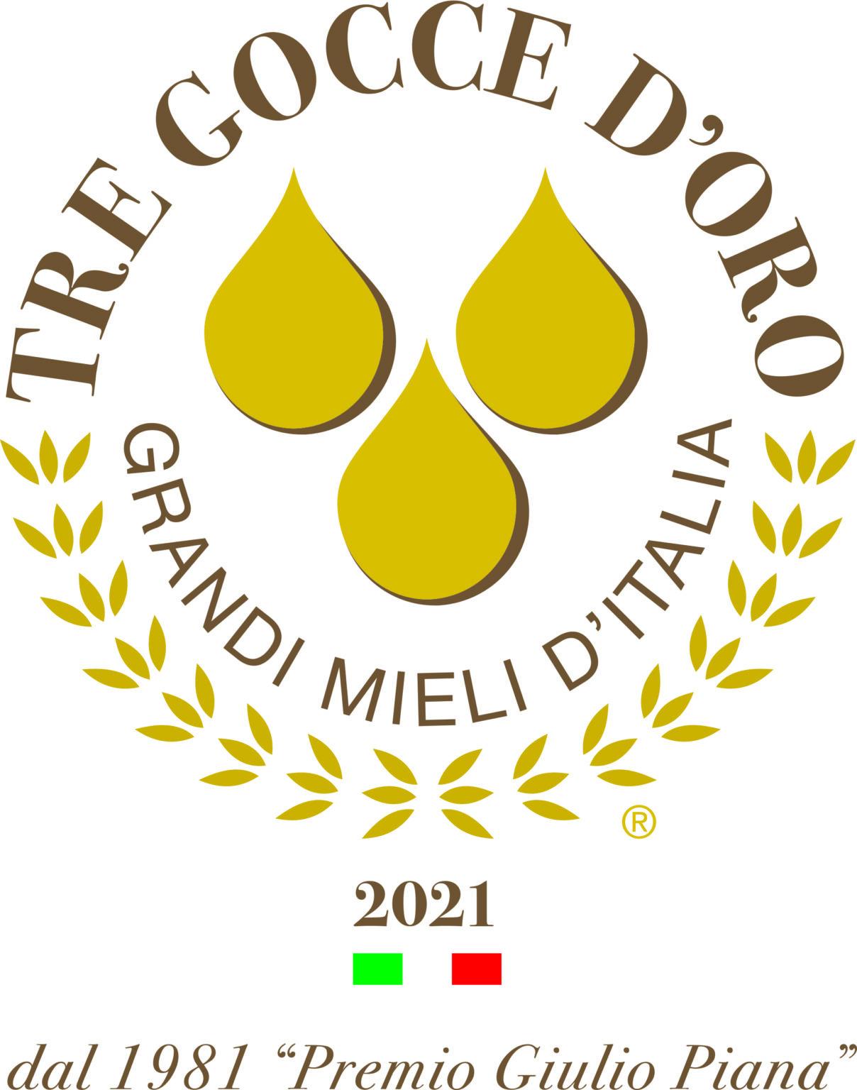 Honey the Brave - Logo Concorso Tre Gocce d'Oro 2021